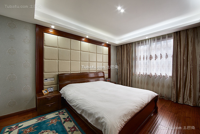 新中式卧室大全