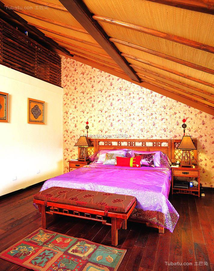 东南亚风格设计家居卧室效果图