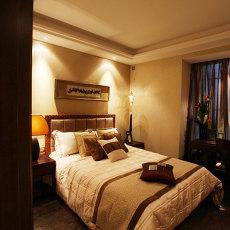 豪华中式设计卧室效果图片