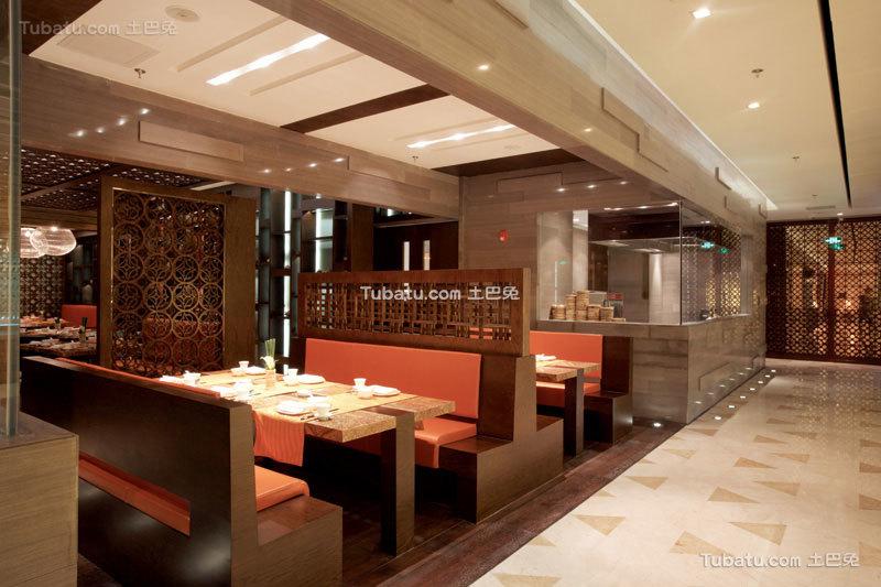 最新中式餐厅时尚设计装修图片欣赏