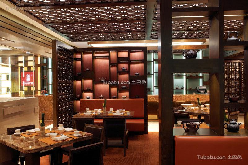中式餐厅时尚设计装修图片
