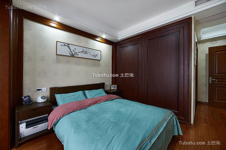 2016新中式卧室软装饰