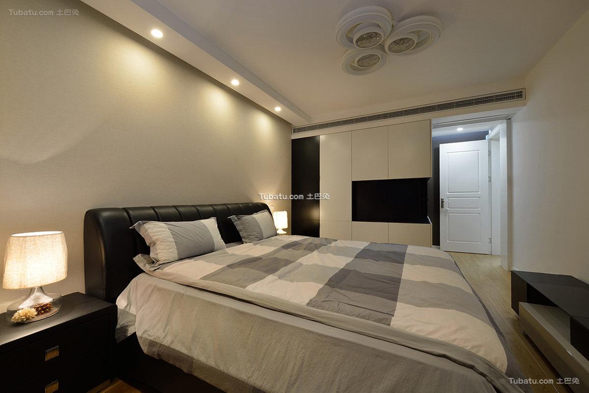 现代摩登时尚卧室布置