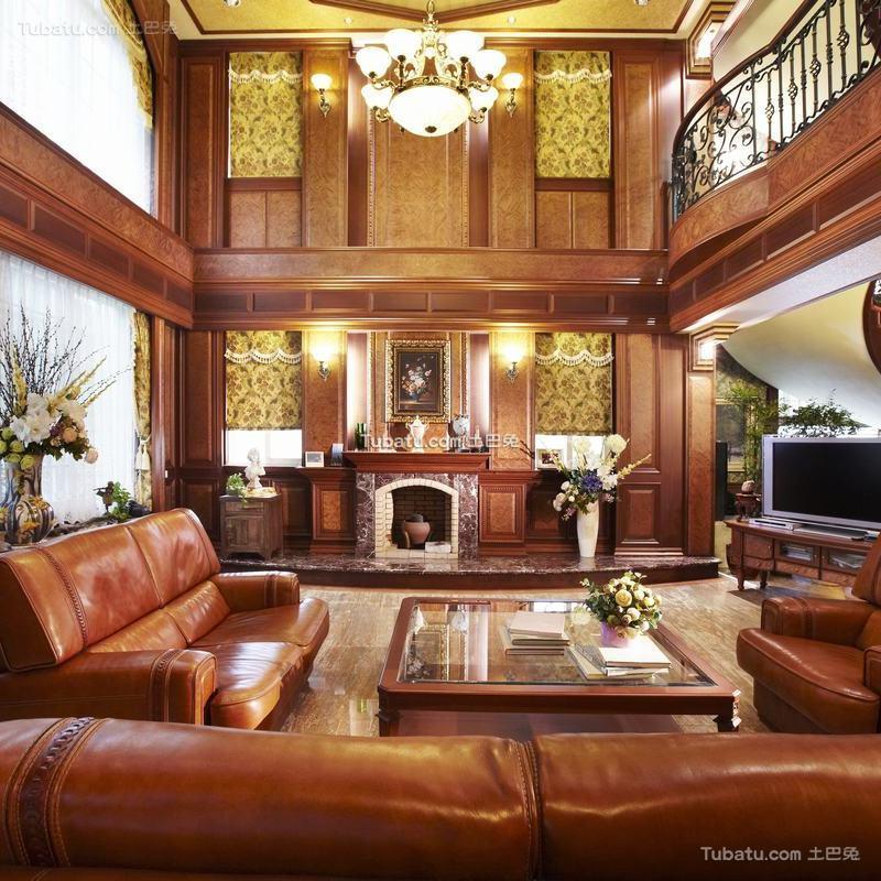 古典欧式别墅室内家居装饰设计效果图片