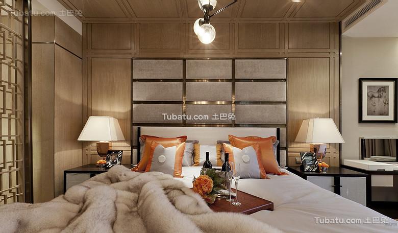 奢华现代中式卧室