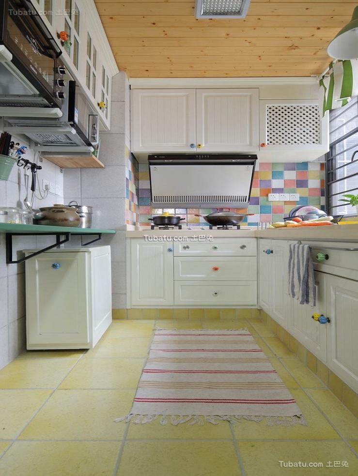 时尚现代设计家居厨房装修效果图