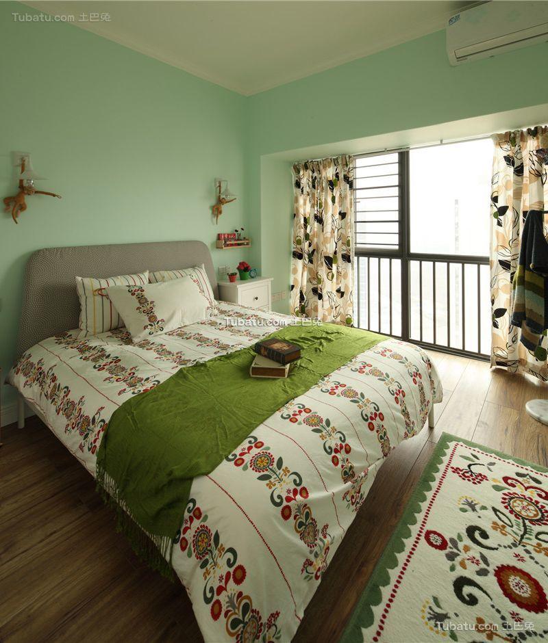 时尚现代设计风格卧室装修效果图
