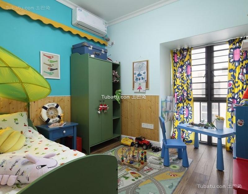 时尚现代设计儿童房装修效果图欣赏