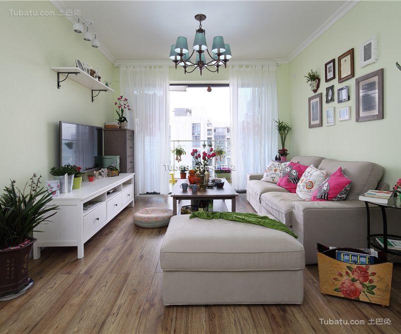 时尚现代设计风格两居装修效果图