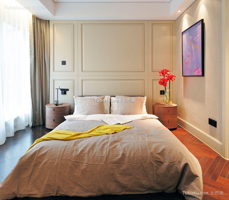 现代卧室设计装修效果图片案例