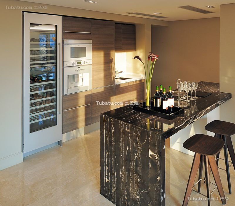 现代室内家居吧台设计装修效果图片