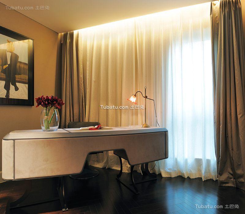 现代家居书房设计装修效果图片