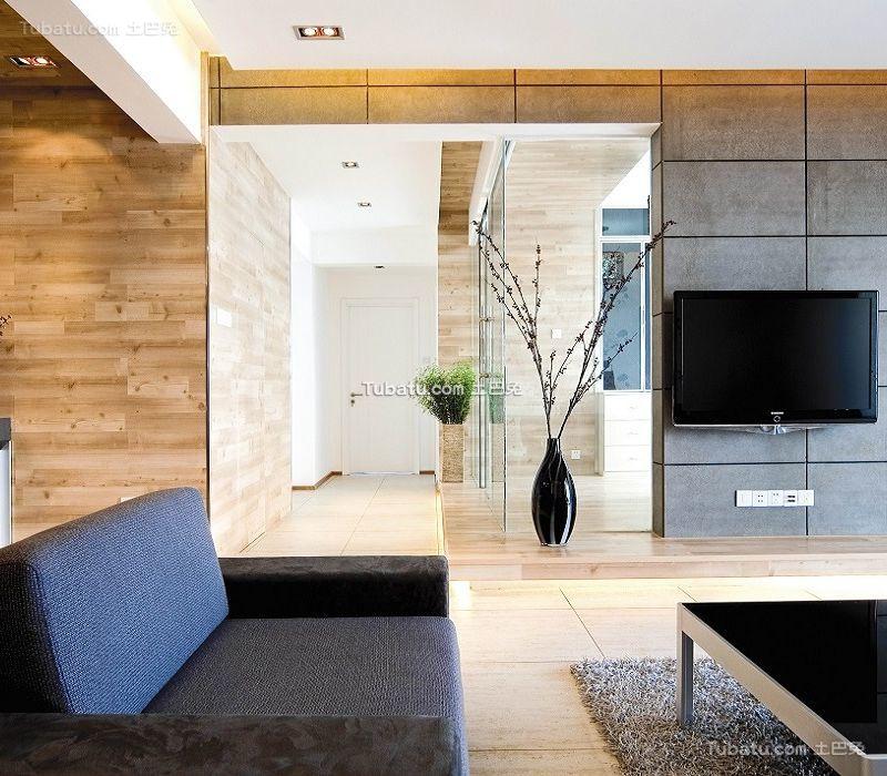 现代精致两居室家居设计装修效果图