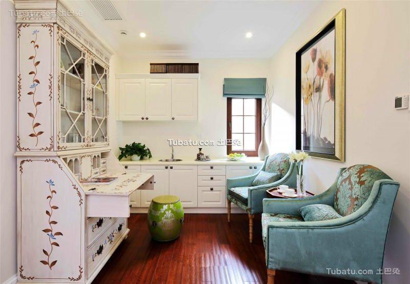 新古典风格设计家居厨房装修效果图片