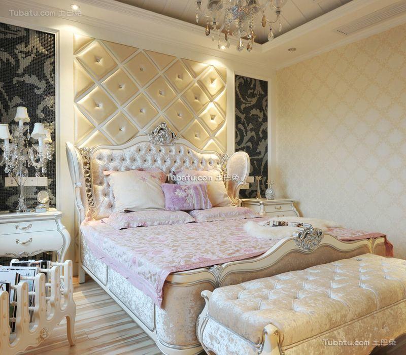 简欧风格卧室设计装修效果图片