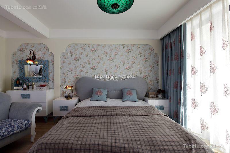 地中海风格复式家居卧室效果图片
