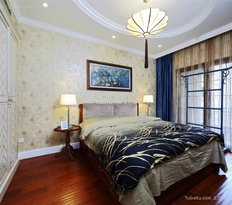 新古典风格设计卧室装修效果图片