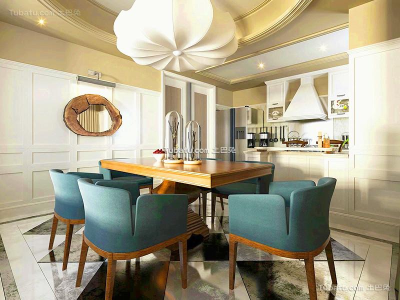 现代创意家居装修餐厅