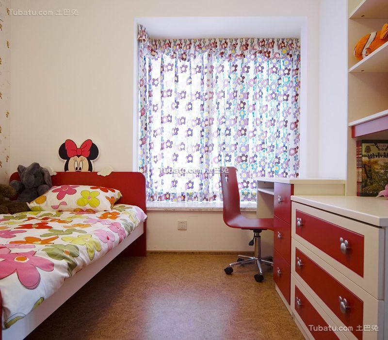 现代家居儿童房设计装修效果图案例
