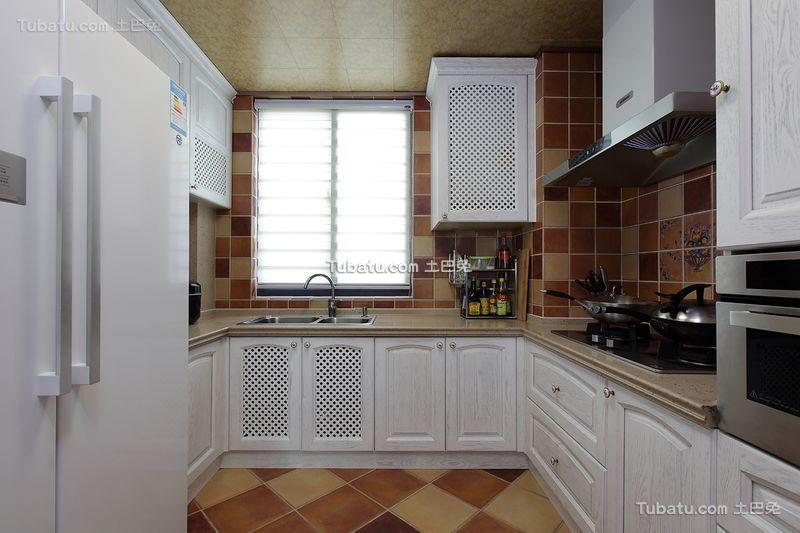 地中海风格复式家居厨房效果图片