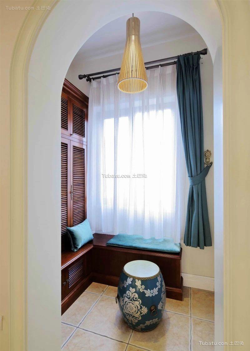 新古典风格设计室内飘窗装修效果图片