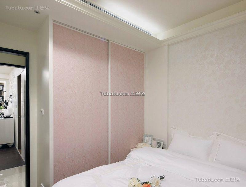时尚现代简约卧室衣柜效果图片