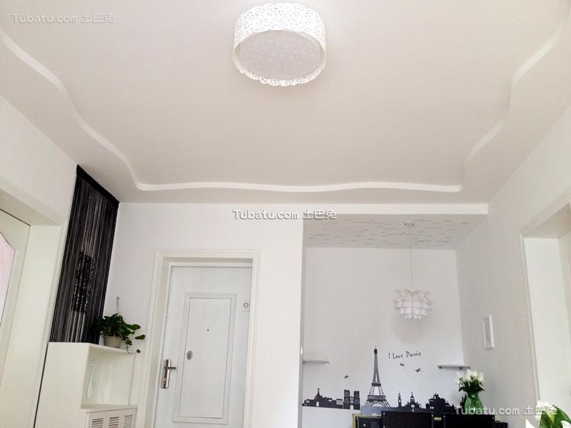 北欧风格设计室内吊顶效果图片