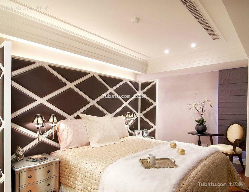 时尚简欧设计卧室装修效果图欣赏