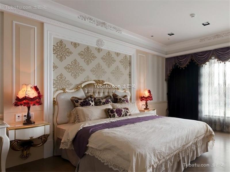 复古低奢欧式卧室