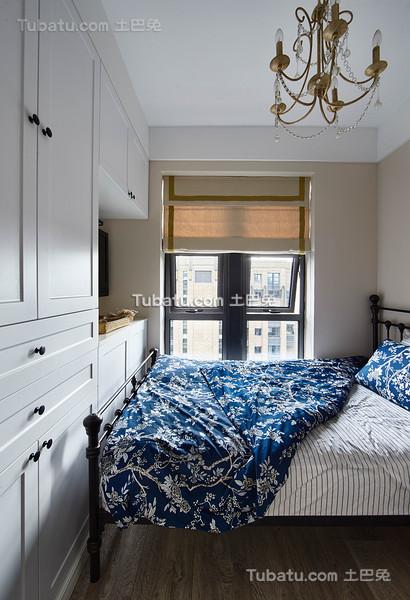 创意混搭美式卧室装修布置