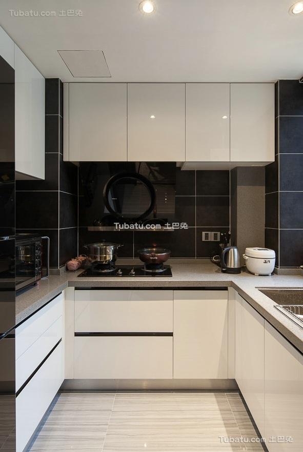 时尚现代装修厨房效果图片