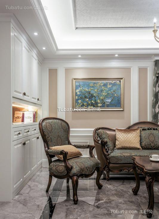 时尚现代欧式客厅细节展示