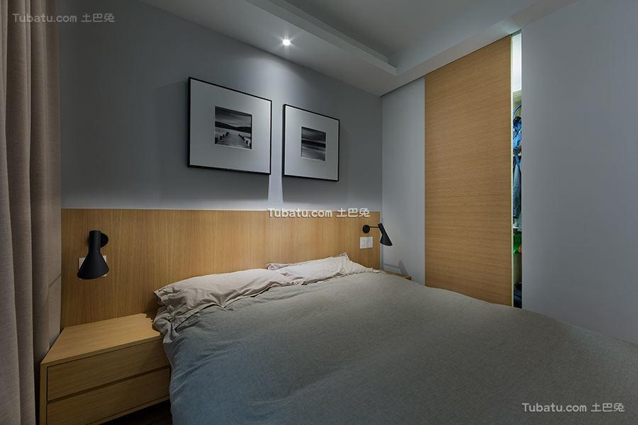 简约现代公寓室内卧室装修图片