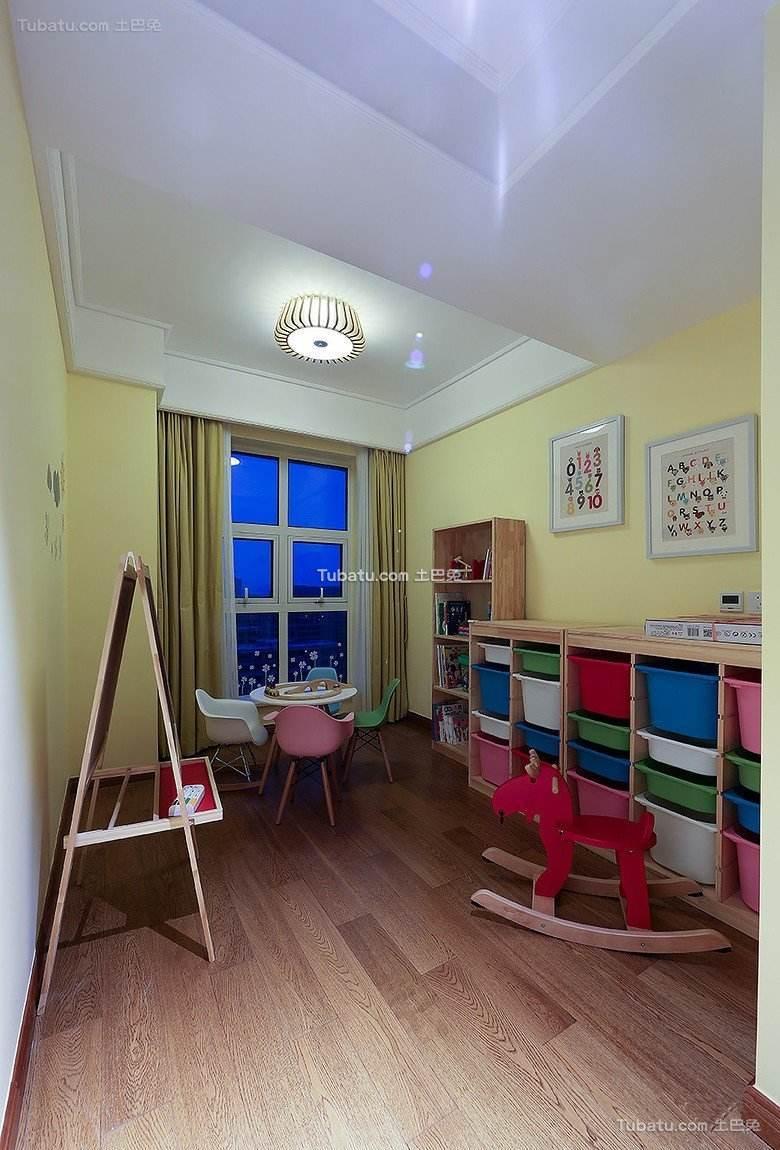 时尚美式儿童房欣赏图