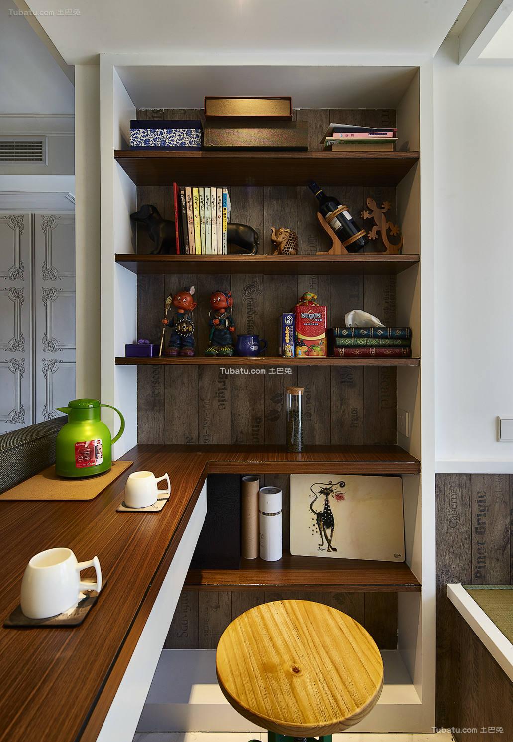 北欧风格家居书房装修设计效果图片