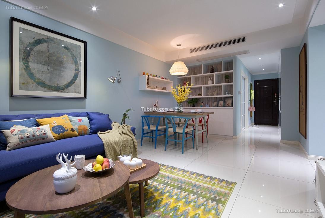 现代时尚设计客厅装修图片