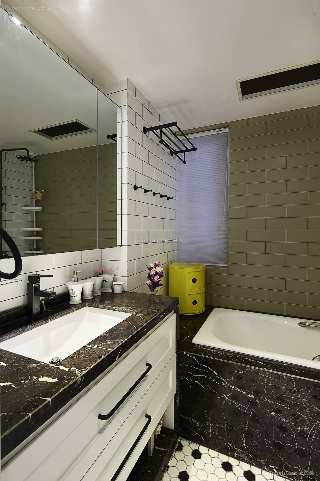北欧风格室内卫生间设计效果图片欣赏