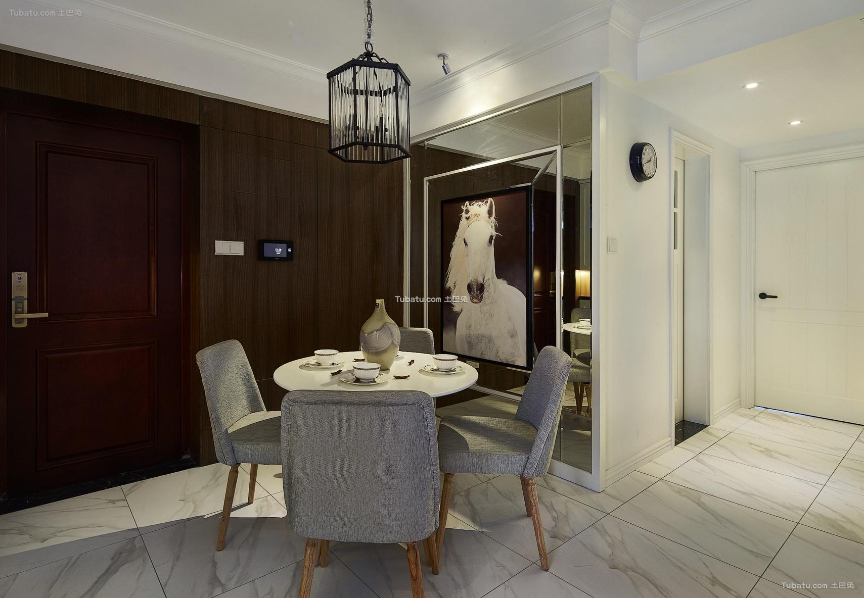 北欧风格家居餐厅装修设计效果图片