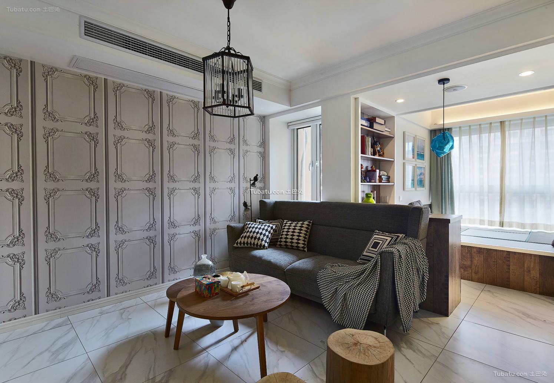 北欧风格四居室装修设计效果图片