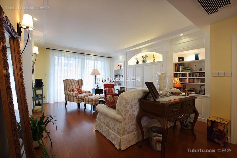 温馨美式三居装潢设计