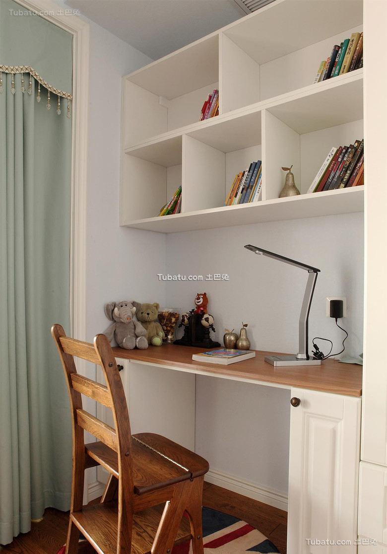 美式家居公寓书房装修图片