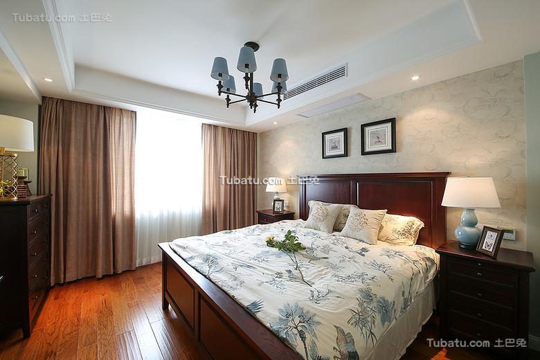 潮流混搭美式卧室设计