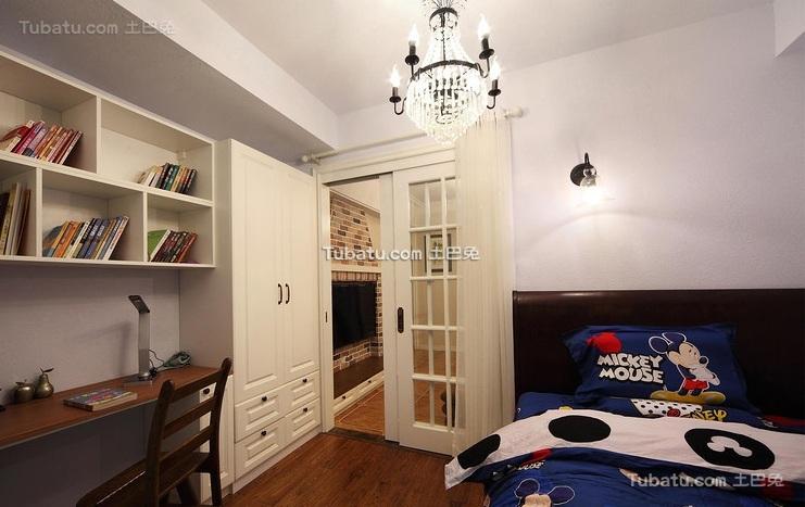 美式家居儿童房室内装修图片