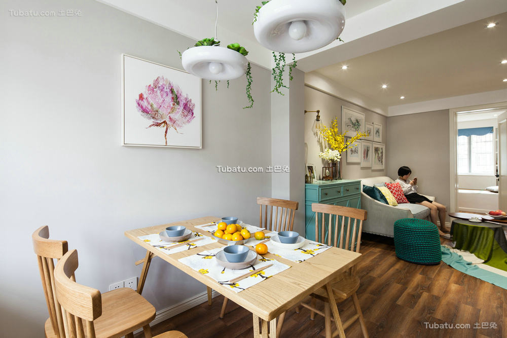 简约温馨家居餐厅设计效果图片
