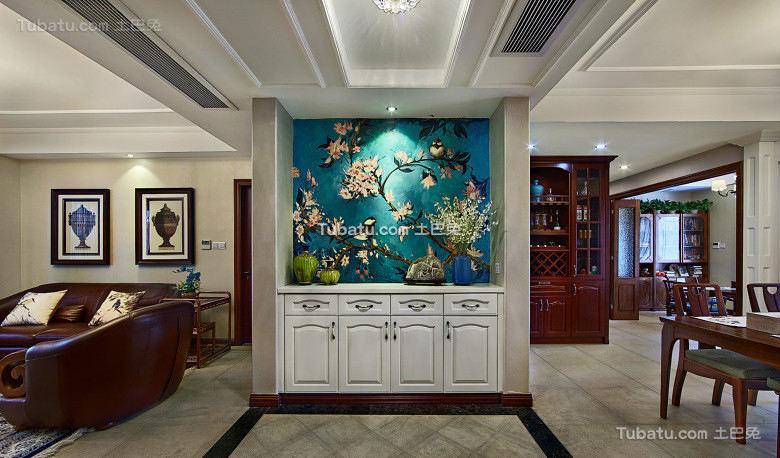 时尚简欧复古风格设计四居室装修效果图