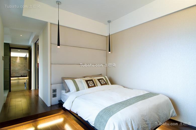 中式简韵卧室设计