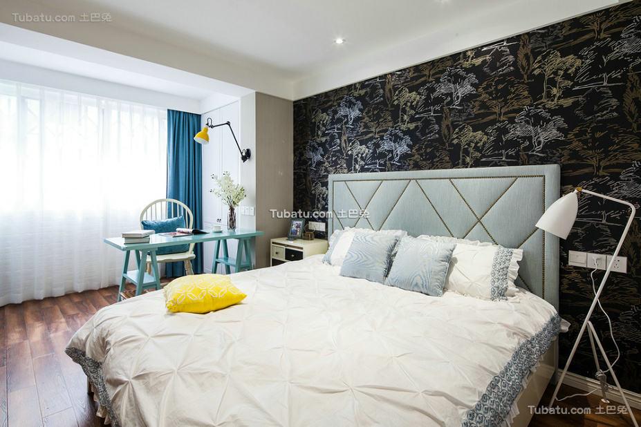 简约室内卧室设计装饰效果图片