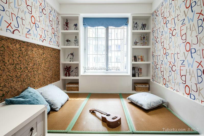 简约温馨家居榻榻米设计效果图片