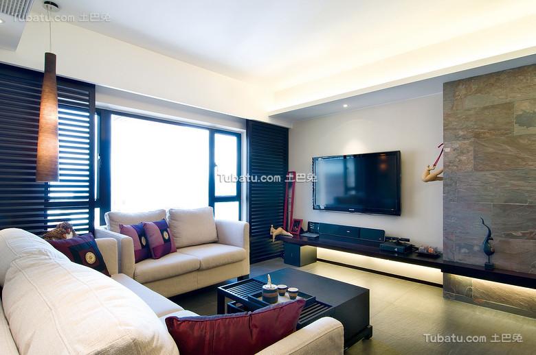 中式简韵客厅设计