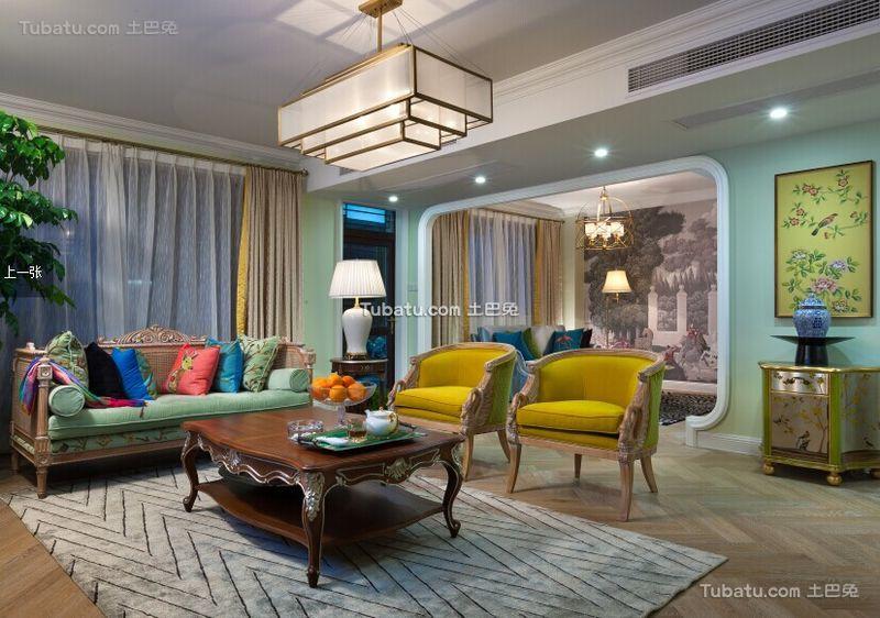 欧式时尚设计别墅室内装修图片